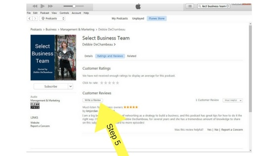 iTunes step 5 review - Copy