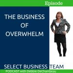 Episode 16 business of overwhelm